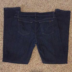 Joe's Straight Leg Dark Blue Jeans Size 29